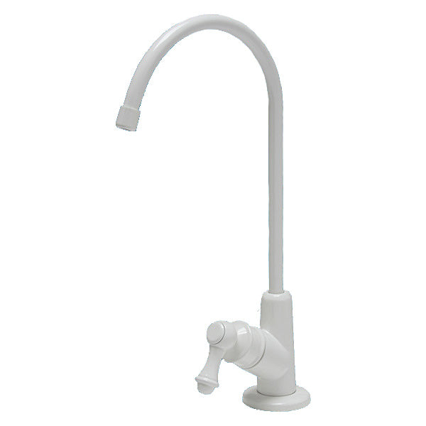 White Drinking Water Faucet with European Luxury Style Design