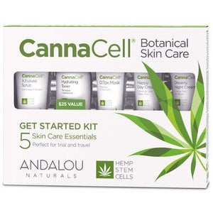 Andalou CannaCell Botanical Skin Care Get Started Kit