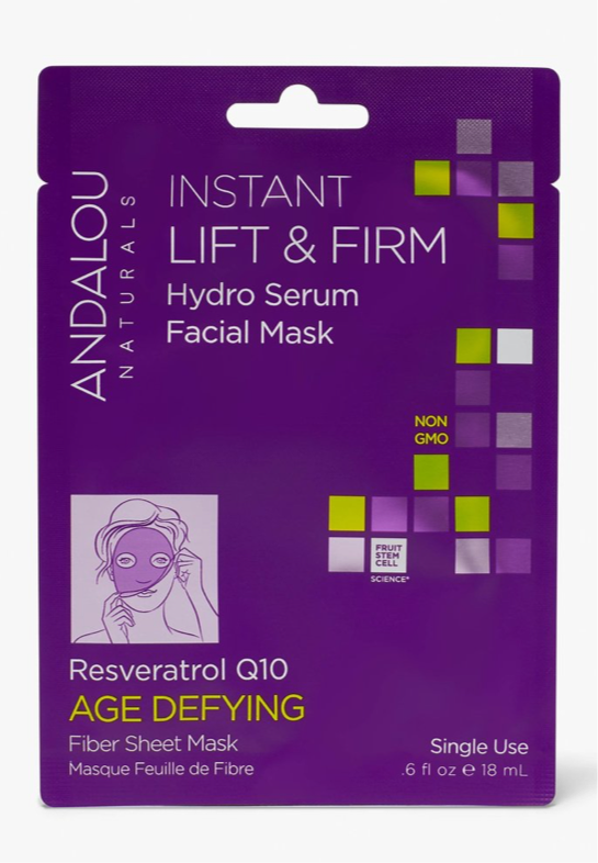 Andalou Naturals Instant Lift And Firm Hydro Serum Facial Mask