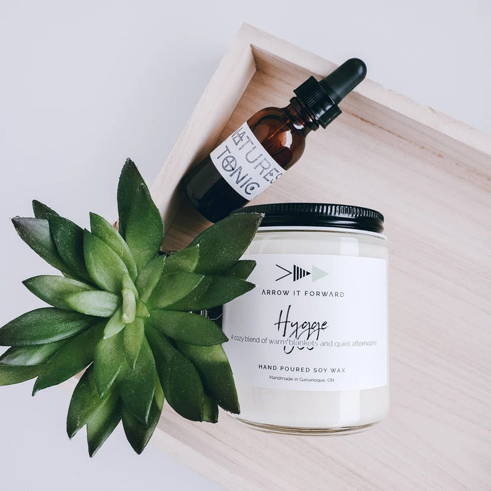 Arrow It Forward Hygge Hand Poured Soy Wax Candle