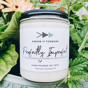 Arrow It Forward Perfectly Imperfect Hand Poured Soy Wax Candle