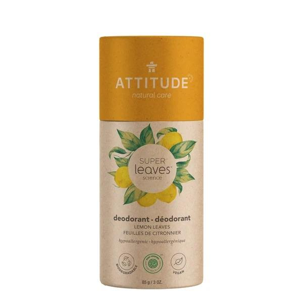 Attitude Super Leaves Science Deodorant Lemon Leaves