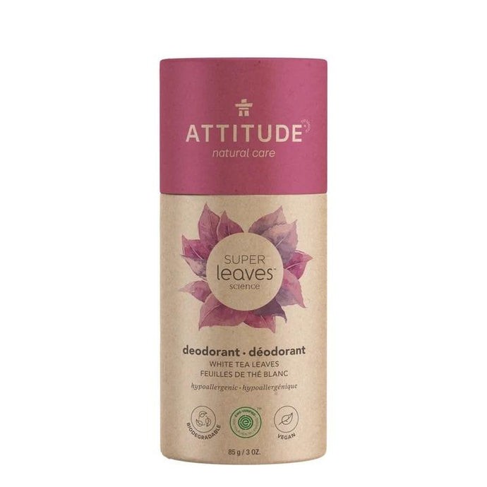 Attitude Super Leaves Science Deodorant White Tea Leaves