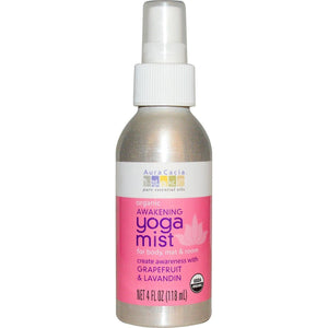 Aura Cacia Organic Awakening Yoga Mist Grapefruit and Lavandin