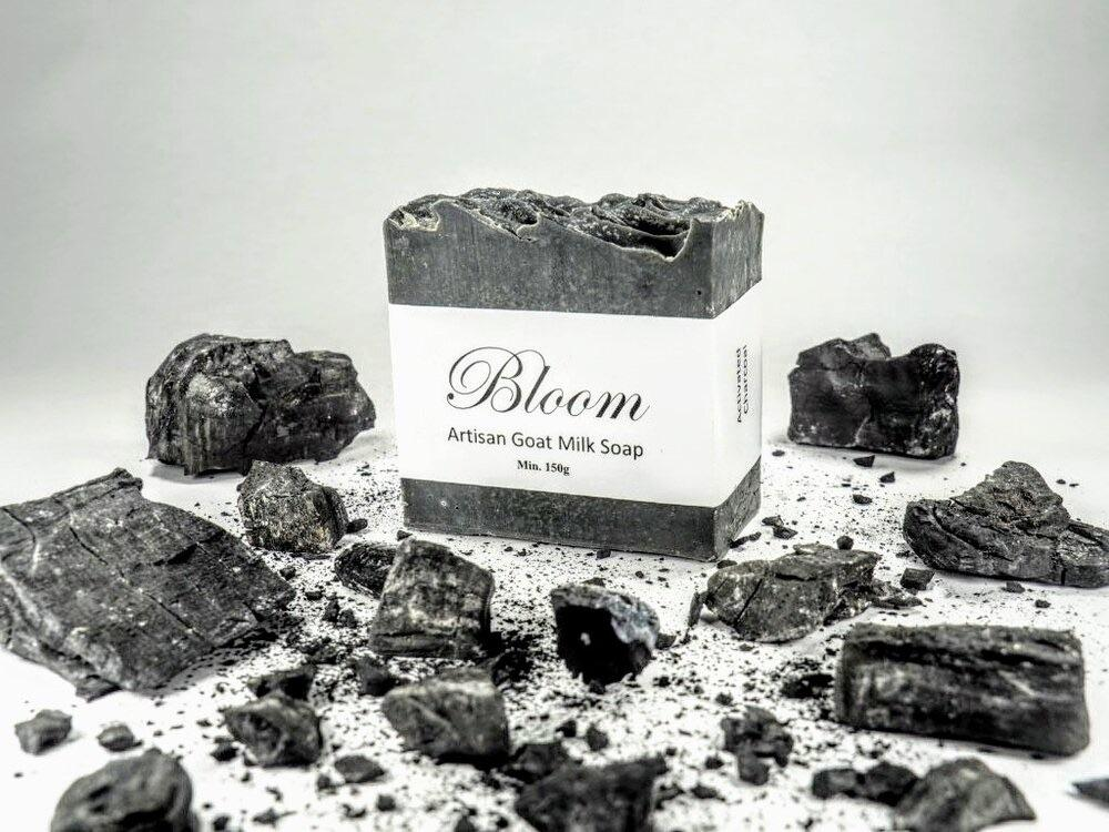 Bloom Artisan Goat Milk Soap Activated Charcoal