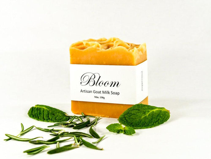Bloom Artisan Goat Milk Soap Minervas Mint