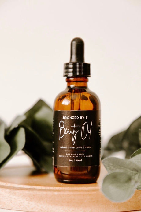 Bronzed By B Beauty Oil for Hair And Body