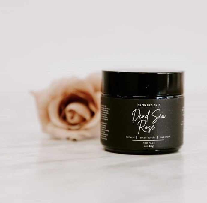 Bronzed By B Dead Sea Rose Mud Mask For Face