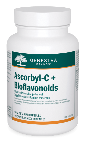 Genestra Brands Ascorbyl C+ Bioflavonoids Vitamin Mineral Supplement