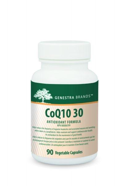 Genestra Brands CoQ10 30 90 Vegetable Capsule