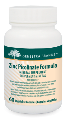 Genestra Brands Zinc Picolinate Formula Mineral Supplement