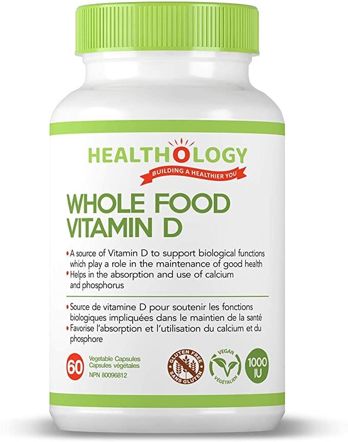Healthology Whole Food Vitamin D