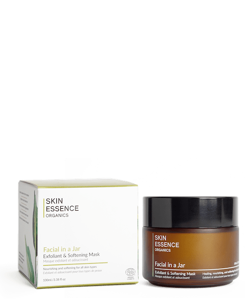 Skin Essence Organics Facial in a Jar Exfoliant & Softening Mask For All Skin Types 100ml