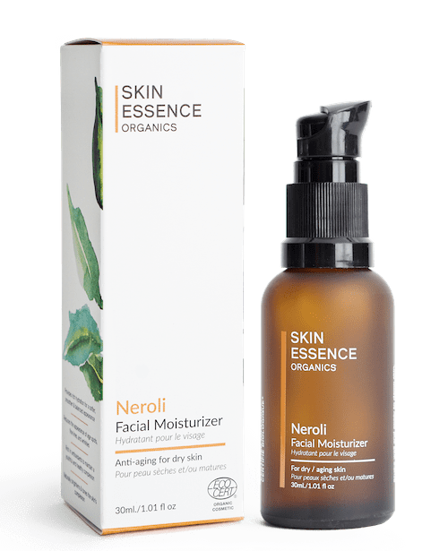 Skin Essence Organics Neroli Facial Moisturizer Anti-Aging for Dry Skin 30ml