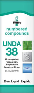 UNDA 38 Homeopathic Preparation Liquid