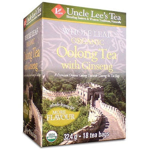 Uncle Lee's Tea Oolong Tea with Ginseng