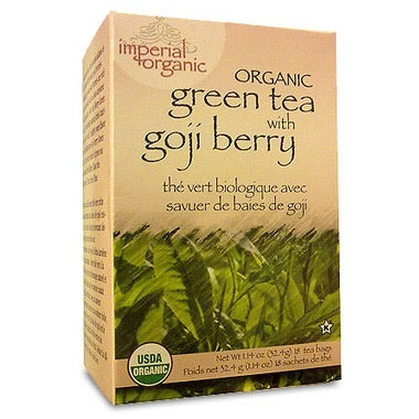 Uncle Lee's Imperial Organic Green Tea with Goji Berry