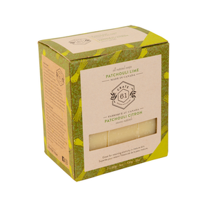 Crate 61 natural soap TRIO - patchouli lime