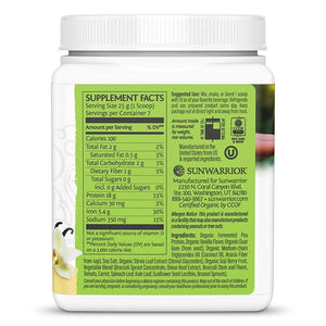 Sunwarrior Clean Greens And Protein Tropical Vanilla 175g
