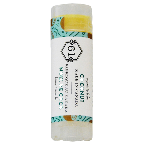 Crate 61 coconut lip balm - pack of 3