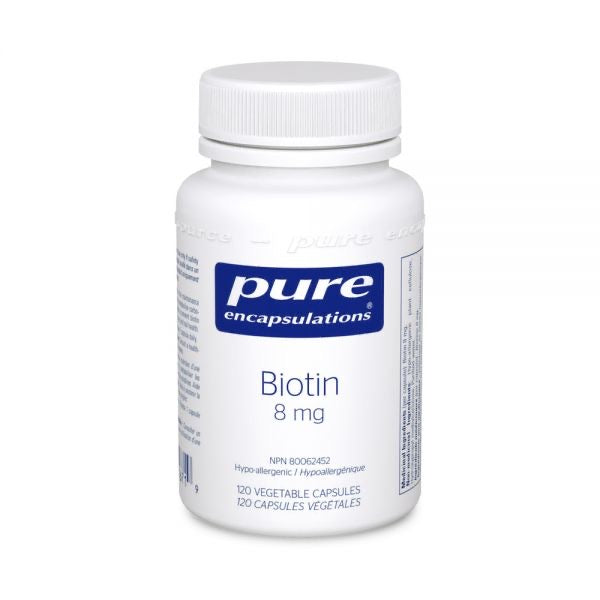 Pure Encapsulations- Biotin (8mg)
