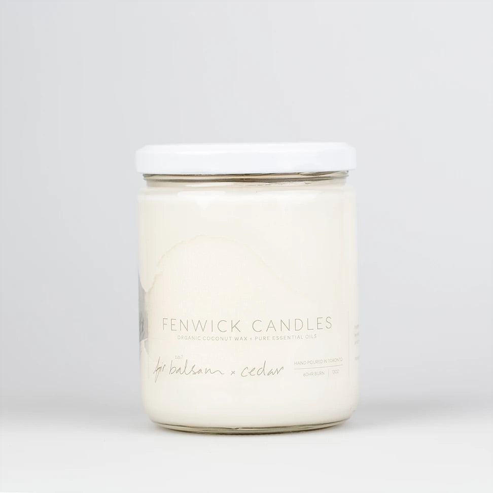 Fenwick Candle Fir Balsam + Cedar 13 oz 80 hour