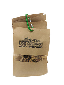 Los Cuernos Chocolate Hazelnut Granola Snackers 4x40gm