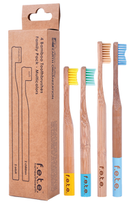 f.e.t.e Toothbrushes Family Pack