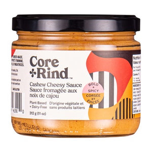Core Rind Cashew Cheesy Sauce- Bold and Spicey