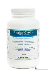 Nutrichem Logical Choice Whey Protein Vanilla Flavour