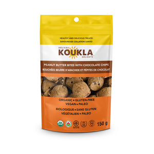 Koukla Delights Peanut Butter with Chocolate Chips