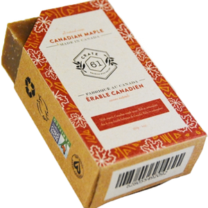Crate 61 natural soap - Canadian maple