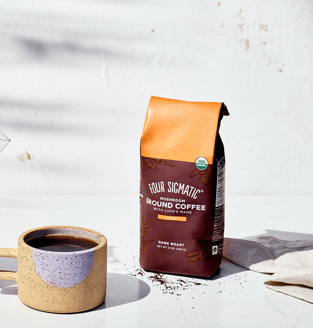 Four Sigmatic Ground Mushroom Coffee With Lion's Mane (Think)