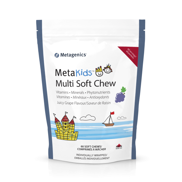 MetaKids Multi Soft Chews Grape Flavour 60CH