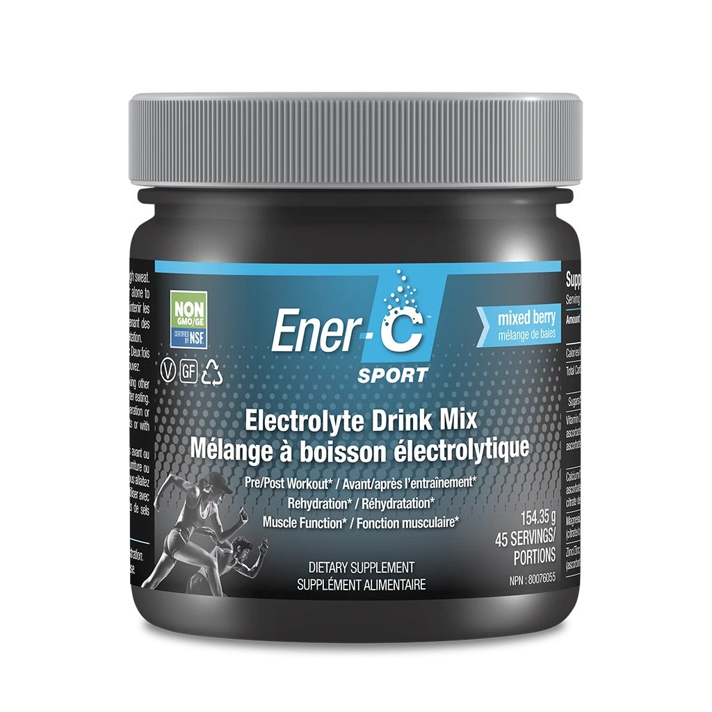 Ener-C Sport Electrolyte Drink Mix - Mixed Berry (Tub)