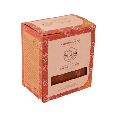 Crate 61 natural soap TRIO - Canadian maple
