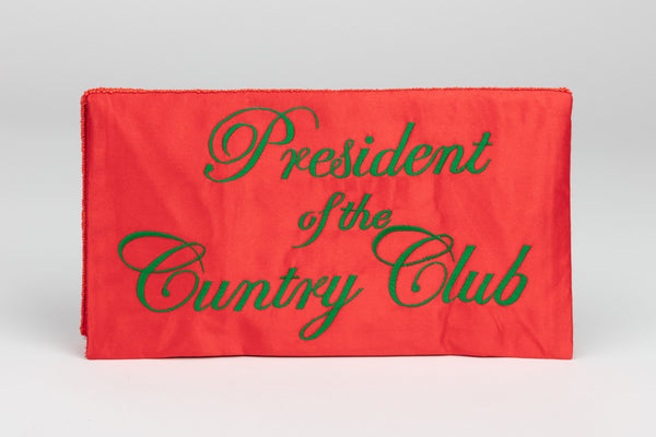 PRESIDENT OF THE CUNTRY CLUB BEADED BAG