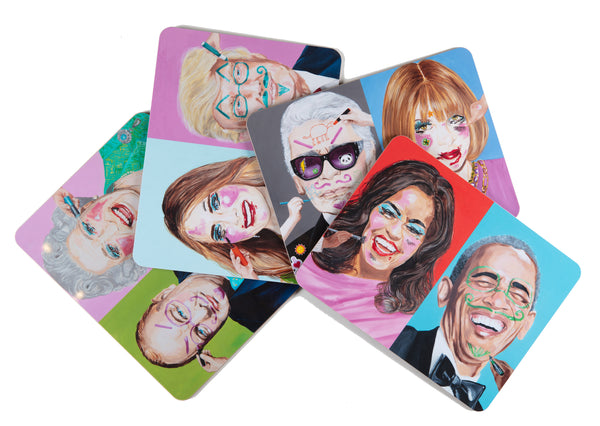 Powerful People Playful Placemats Sets of all 4!!!