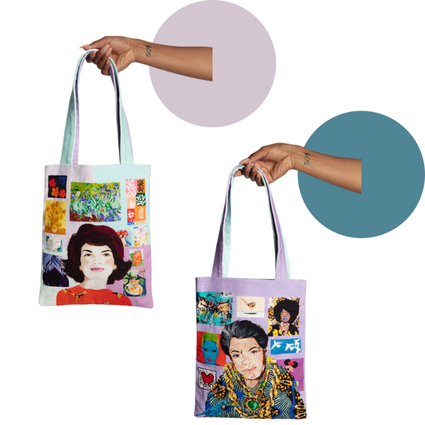 Jaqueline Kennedy/Maya Angelou Two-Sided Power Women Tote