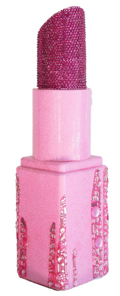 Pink Cascading Jewel Angle Tip Lipstick Sculpture  (#11 of 11)
