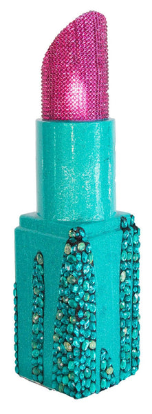 Pink and Turquoise Cascading Jewels Angle Tip Lipstick (#5 of 11)