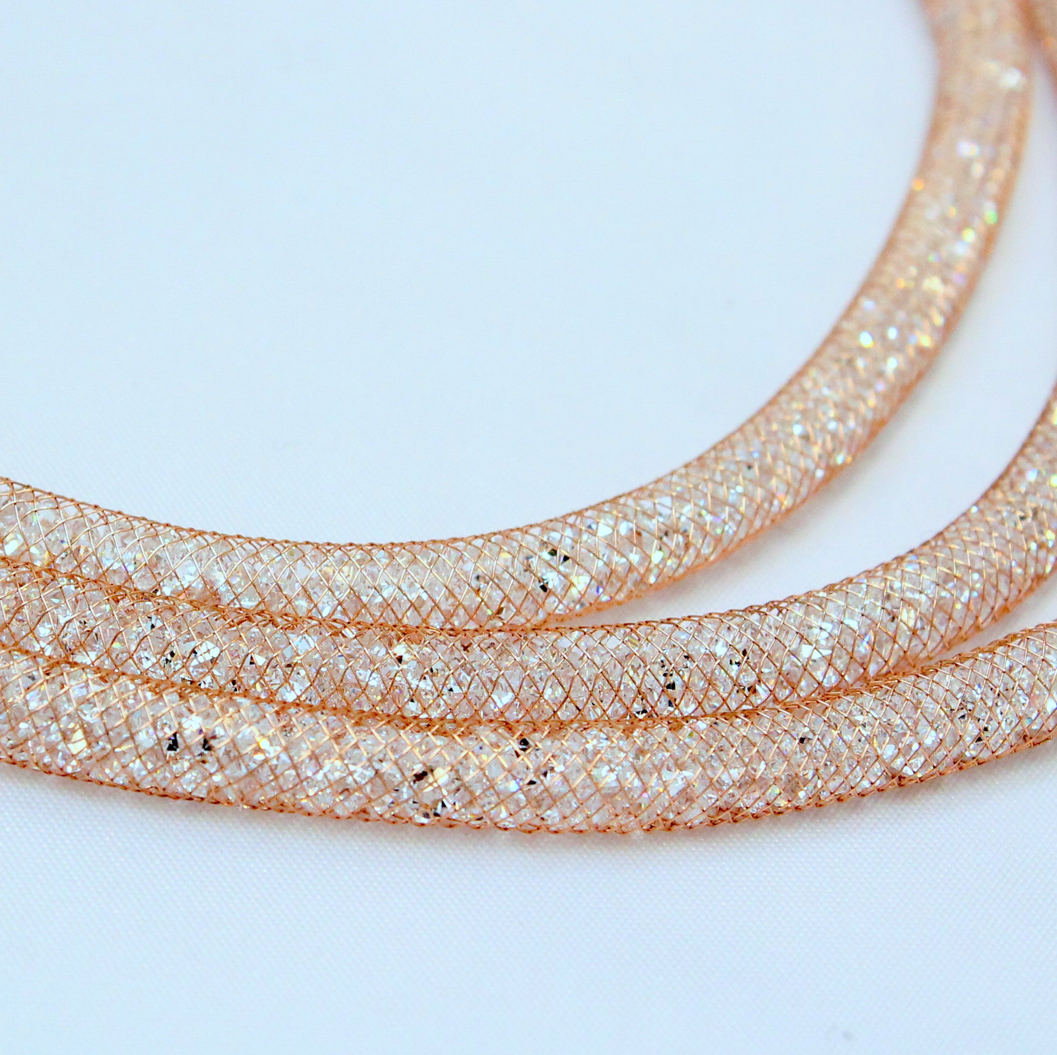 Stella - Rose gold plated with Swarovski Crystals