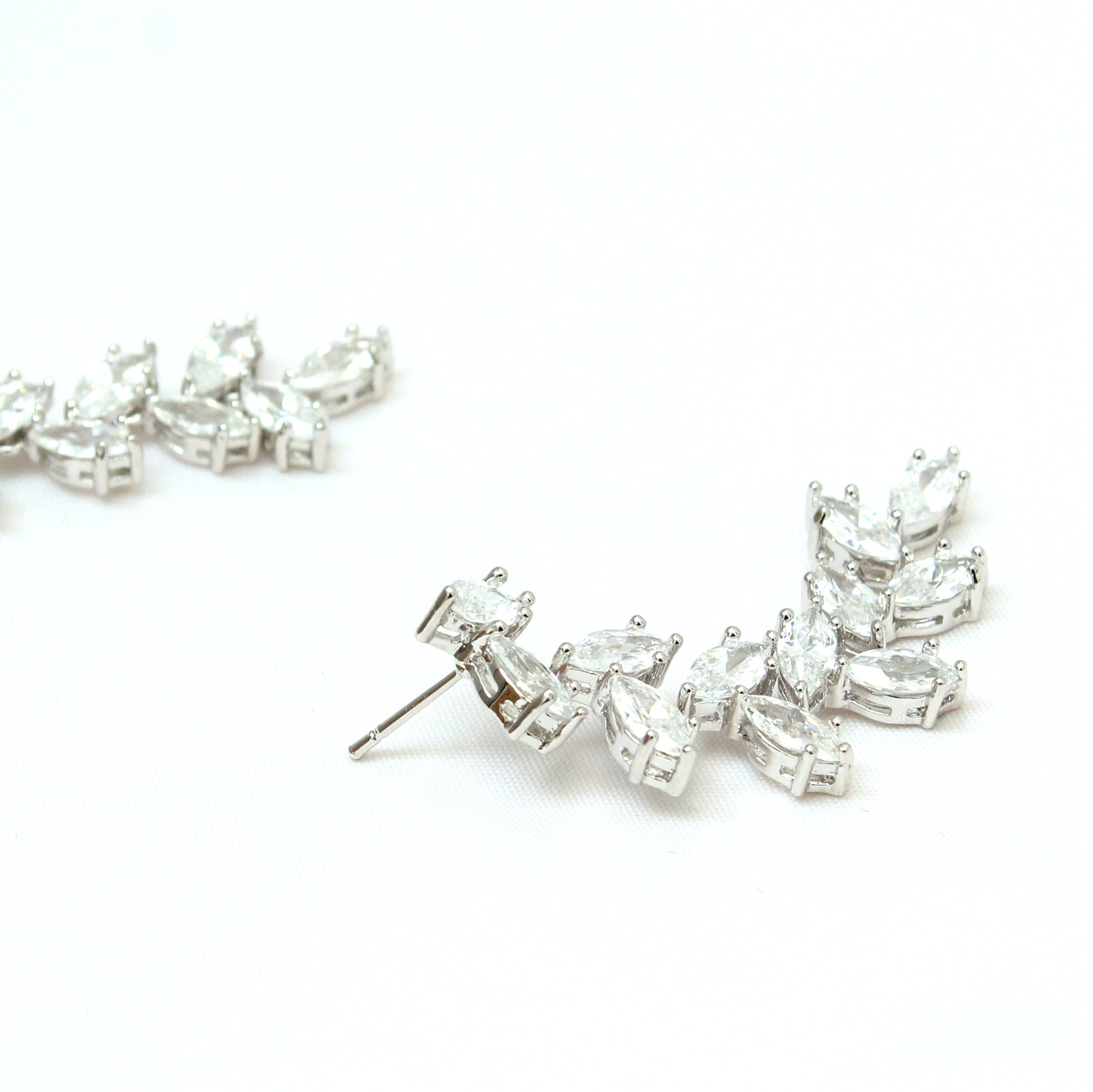 Annabelle - Cyrstal drop earrings