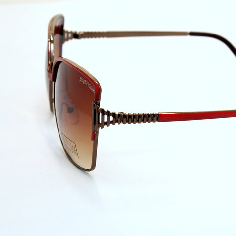Tilt - Red frame sunglasses