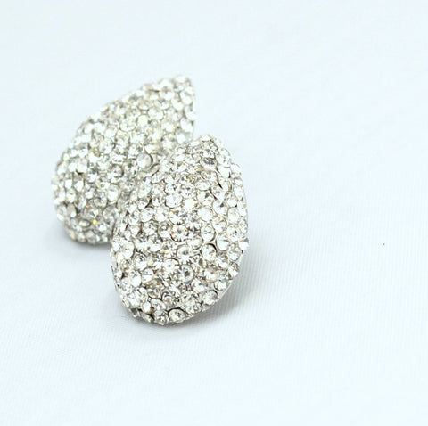 Elise - Crystal diamante studs