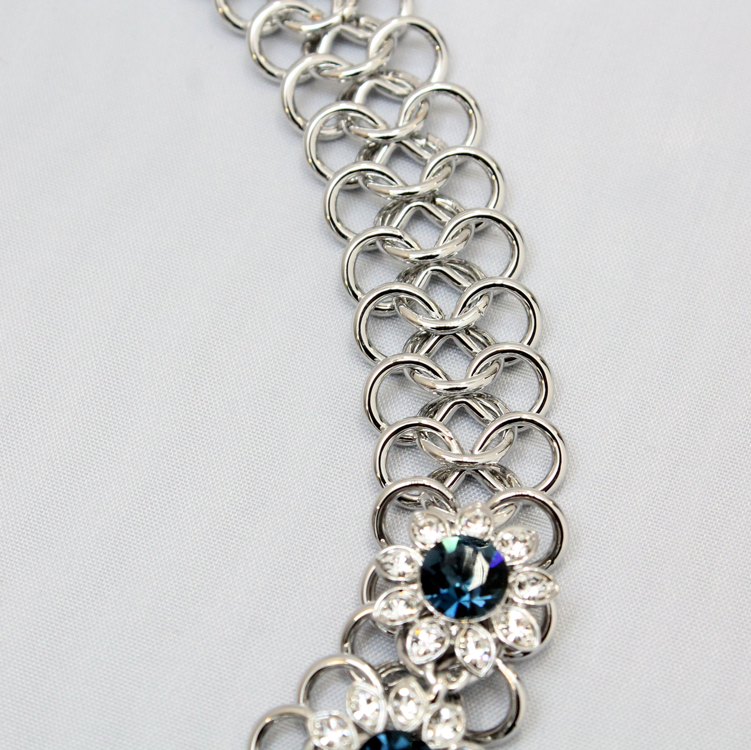 Royalty - Blue Swarovski elements necklace