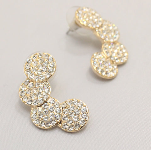 Kairi - Diamante style earrings