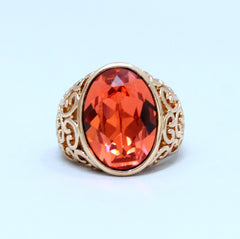 Blaine - Swarovski Elements Rose Gold ring