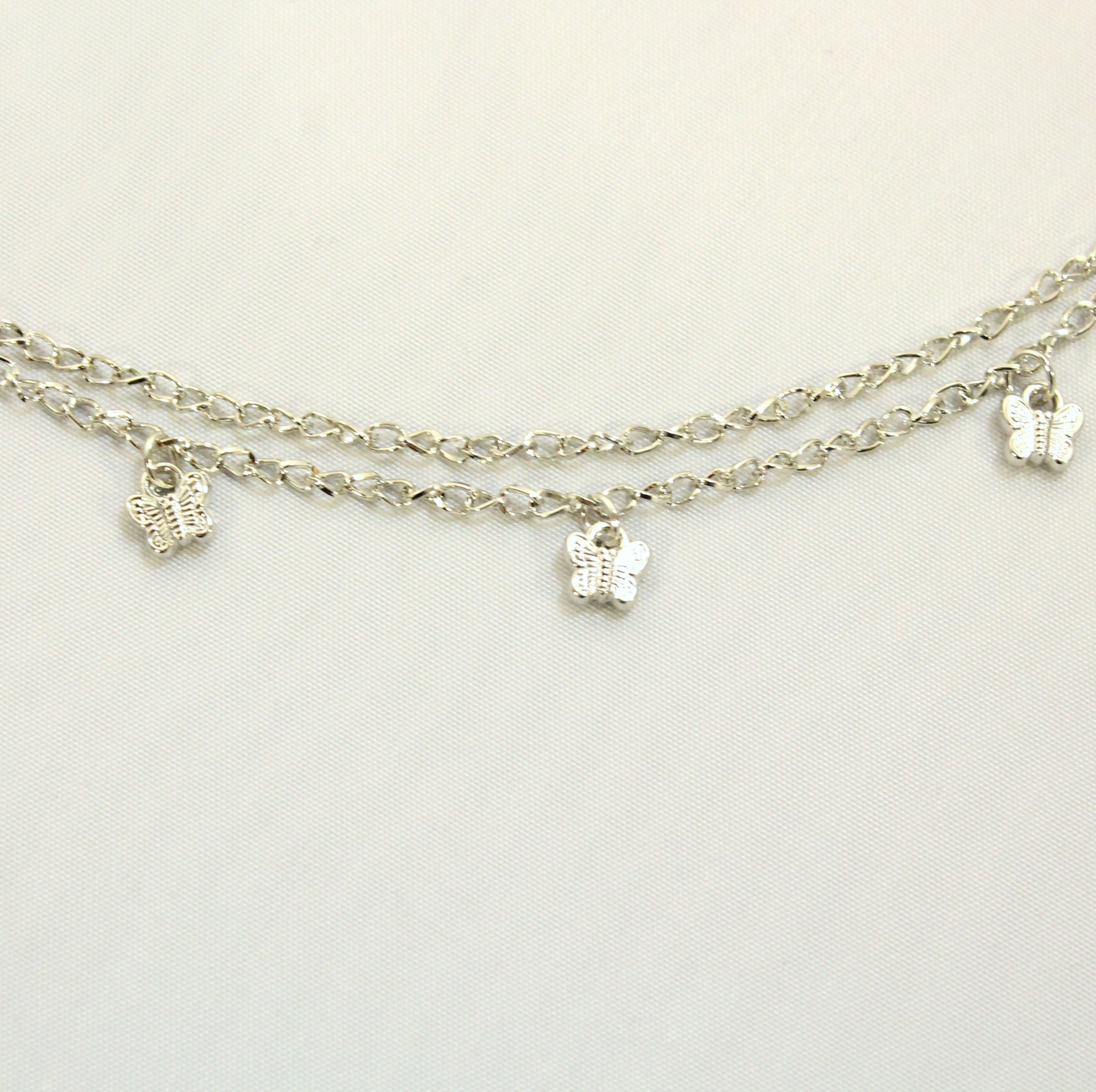 Tal - Butterfly anklet