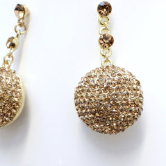 Alka - Diamonte Crystal Earrings